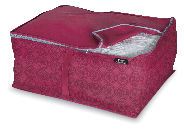 DOMOPAK Living Úložné boxy růžové Velikost: střední