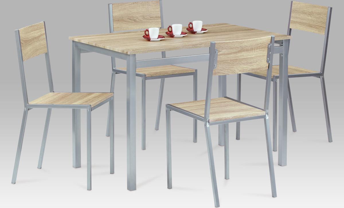 Jídelní set - stůl a židle 4ks - Harvey