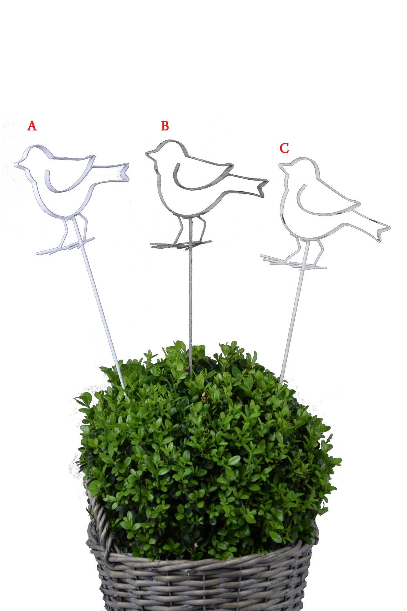 Zápich ptáček 14x60x3cm Provedení: A