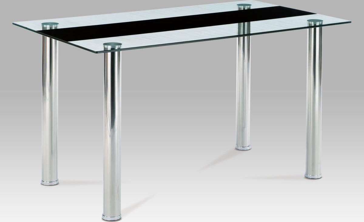 Jídelní stůl tvrzené sklo 140x80cm