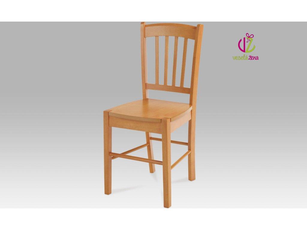 Jídelní židle dřevěná 40x36x85x45cm Barva: olše