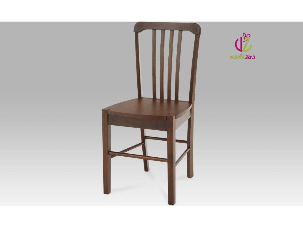 Jídelní židle dřevěná 40x35x86x45cm Barva: ořech
