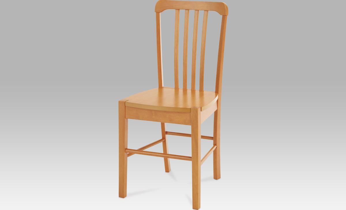 Jídelní židle dřevěná 40x35x86x45cm Barva: olše
