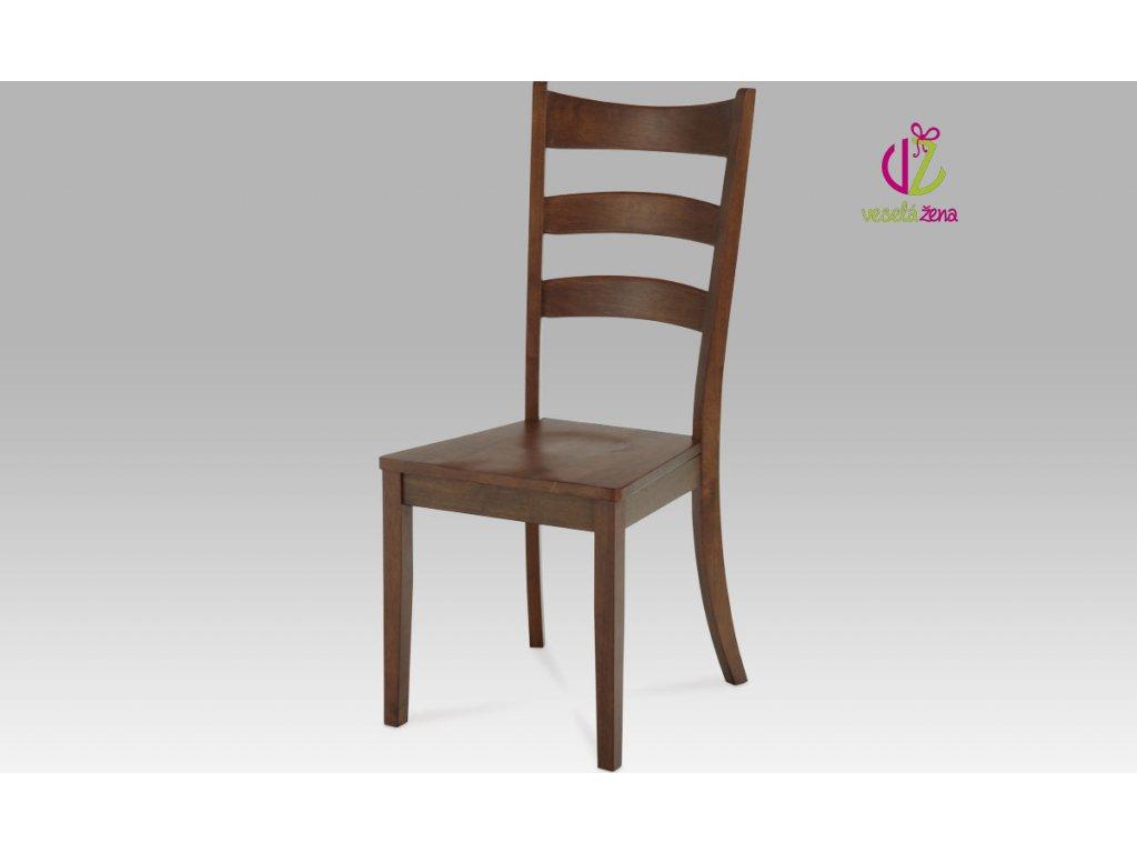 Jídelní židle dřevěná 45x43x103x46cm Barva: ořech