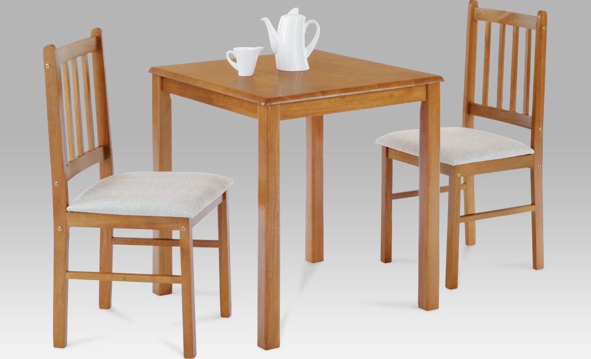 Jídelní set - stůl a židle 2ks - Jaguar Barva: dub