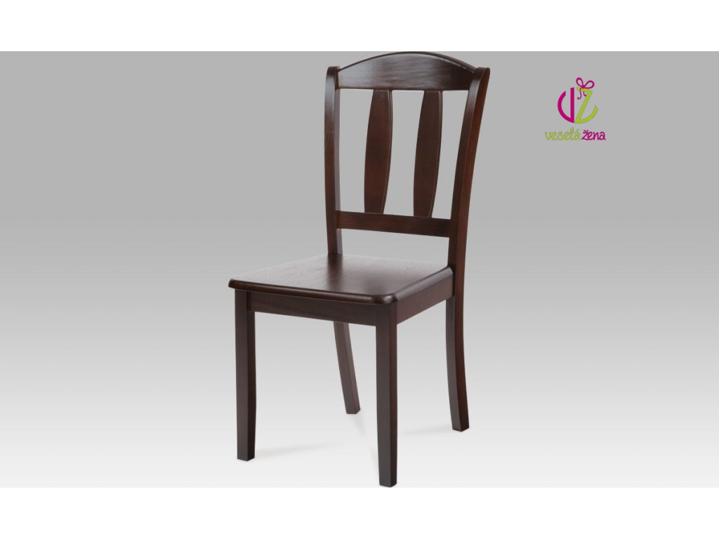 Jídelní židle dřevěná 44x42x90x43cm Barva: ořech