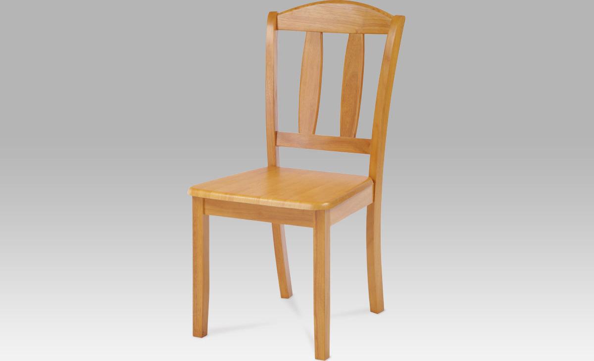 Jídelní židle dřevěná 44x42x90x43cm Barva: olše